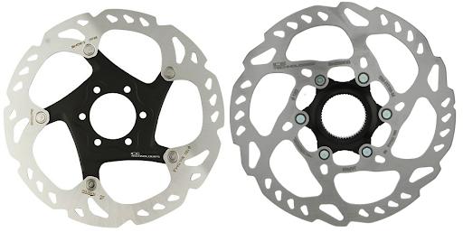 Center Lock dan 6 Bolts pada Rotor Disc Brake