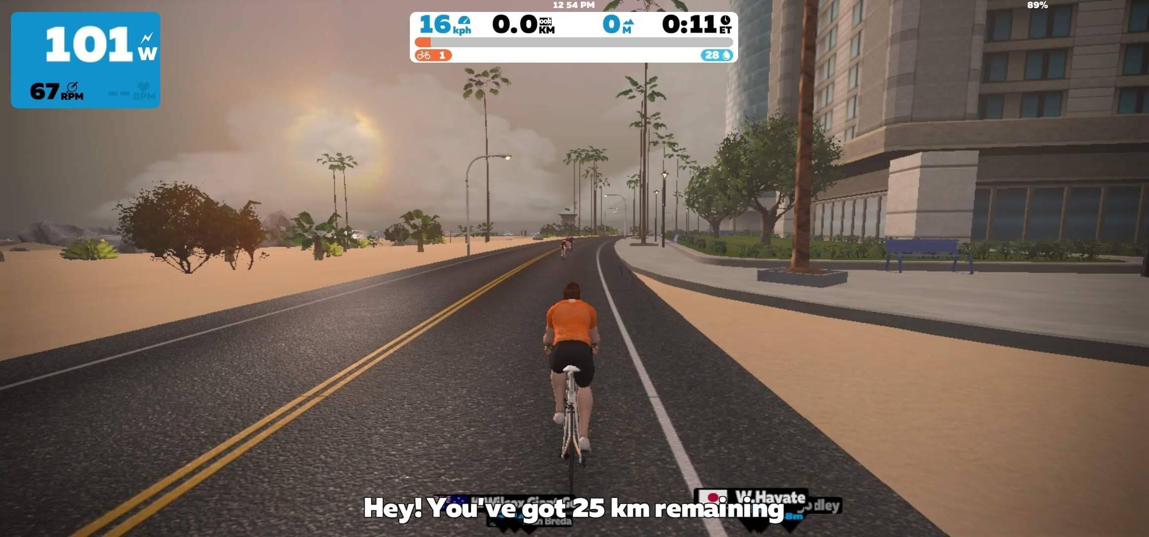Cara Memulai Bersepeda Indoor di Zwift Menggunakan Smartphone