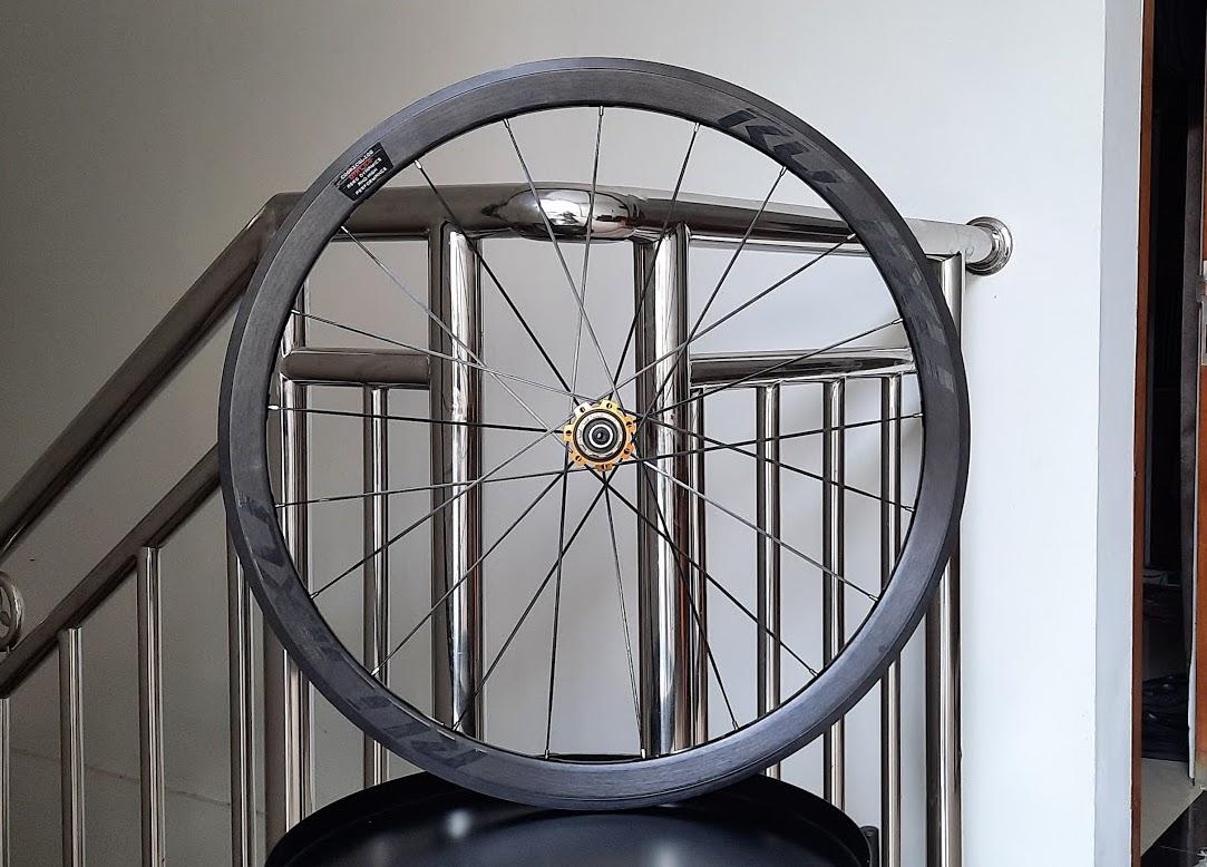 Wheelset Alloy Rim Brake dan Brake Line Hitam Murah dari Rujixu
