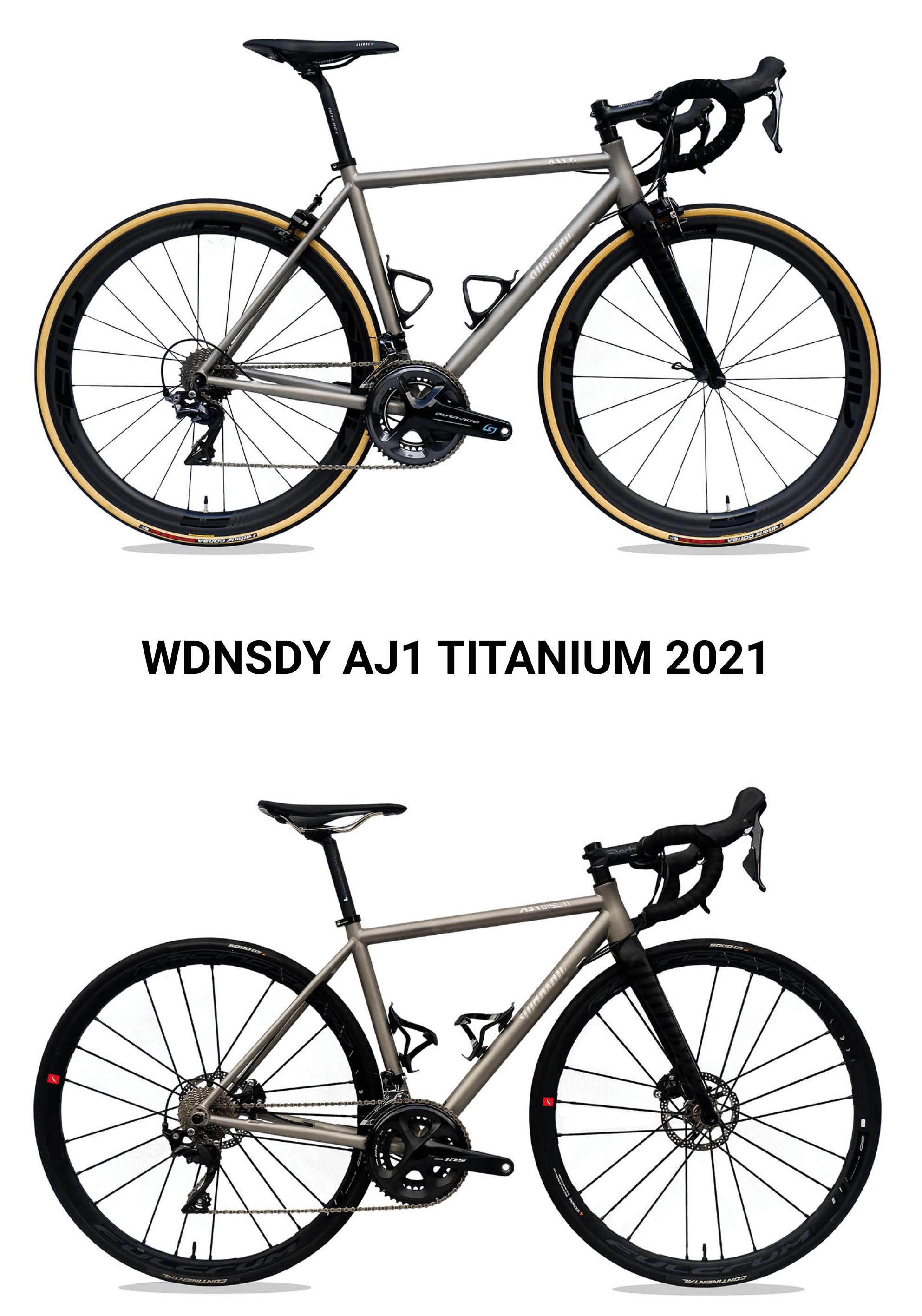 Sepeda AJ1 Titanium dari WDNSDY untuk tahun 2021