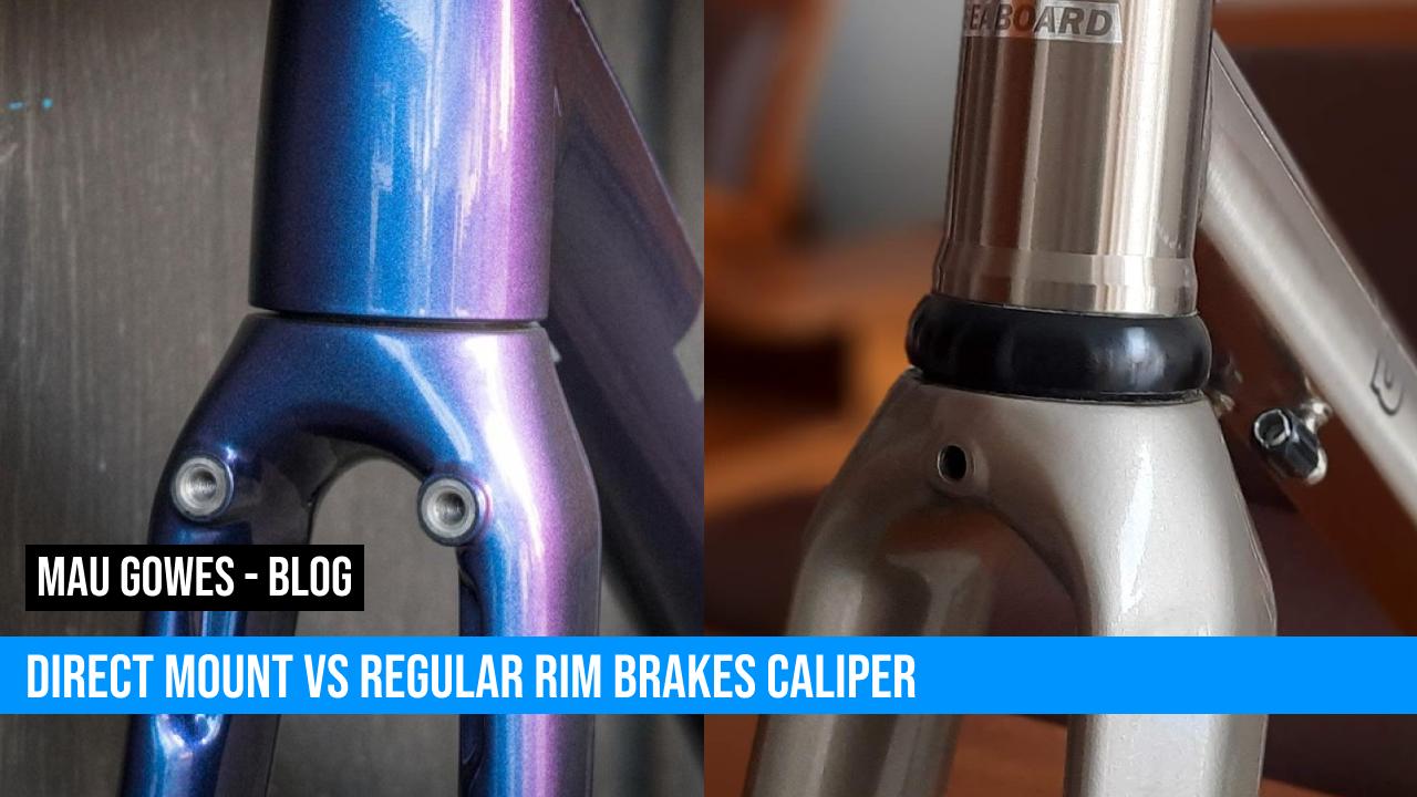Direct Mount vs Regular Mount Untuk Rim Brake Calipers