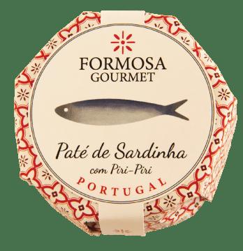 Paté de sardinha picante