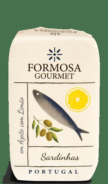 sardinhas em azeite com limão