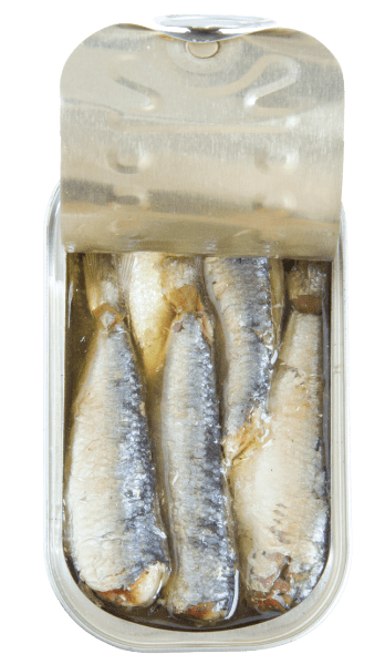 sardines in spicy vegetable oil open