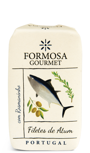 filetes de atum com rosmaninho