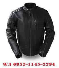 Model Jaket Kulit Pria Biker