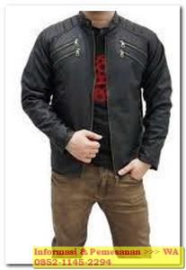 jaket kulit garut biker