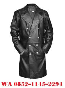 Model Jaket Kulit Pria Panjang Model Jas