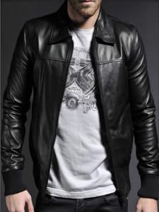 jaket kulit pria asli garut