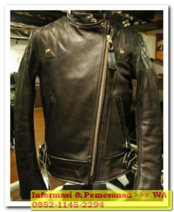 jaket kulit garut premium