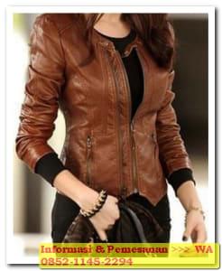jaket kulit wanita termurah