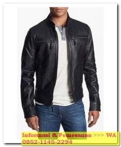 model jaket kulit garut pria