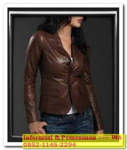 jaket kulit wanita yang bagus