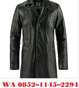 jaket kulit model jubah