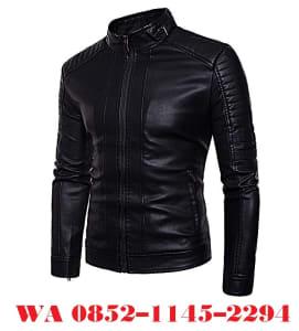 jaket kulit pria terbaru