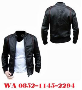 pengrajin jaket kulit anak muda