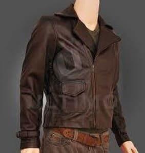 jaket kulit garut model bomber