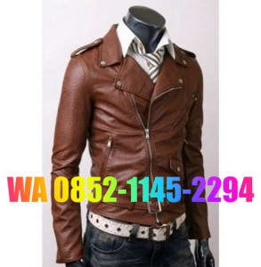 pengrajin jaket kulit