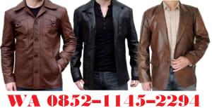 model-model jaket kulit pria terbaru