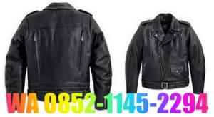 model jaket kulit terbaru