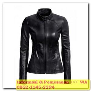 model jaket kulit terbaru wanita
