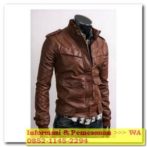 jaket kulit produksi garut