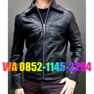 model jaket kulit pria