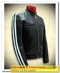 model jaket kulit pria 2018