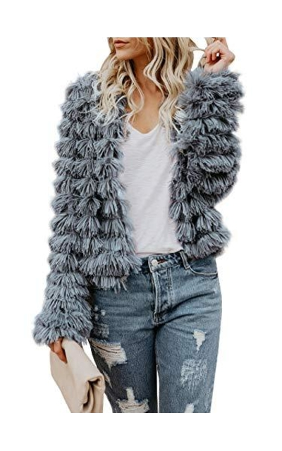 Lovaru Shaggy Faux Fur Jacket