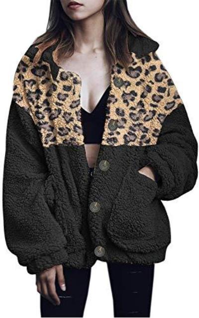 ETCYY Fleece Faux Shearling Jackets