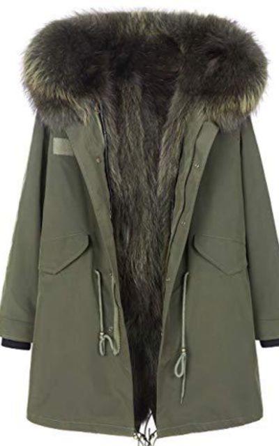 JING Fur Parka