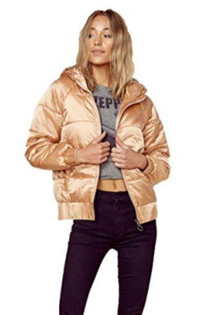 MINKPINK Hooded Puffer Jacket