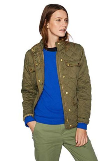 J. Crew Mercantile Quilted Field Jacket