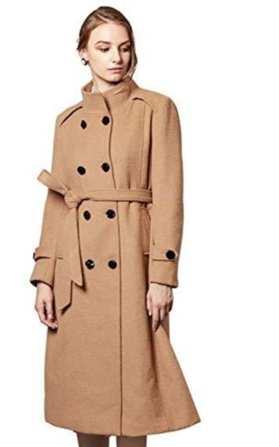 Escalier Wool Trench Coat