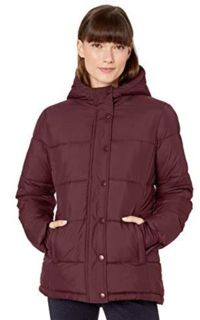 Amazon Essentials Heavy-Weight Hooded Puffer Coat