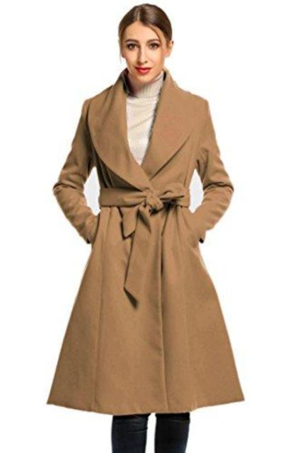 Hotouch Swing Pea Coat