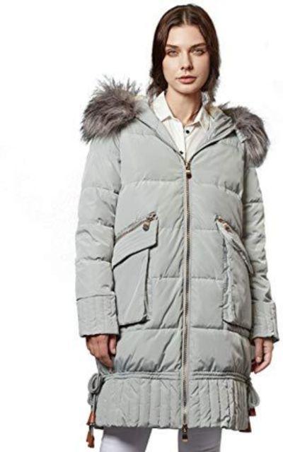 ANNA&CHRIS Escalier Wam Long Puffer Coat