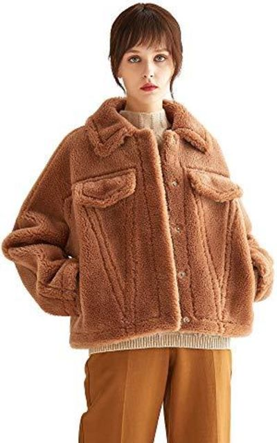 VUTOLEE Faux Fur Coat