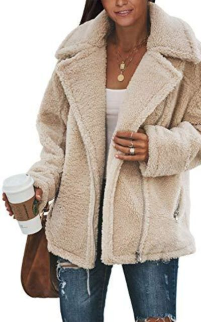 Diukia Oversized Teddy Coat
