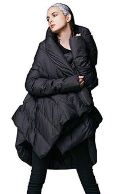 YVYVLOLO Cloak Puffer Parka