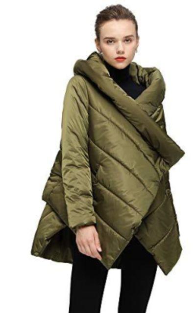 WODOWEI Blanket Coat