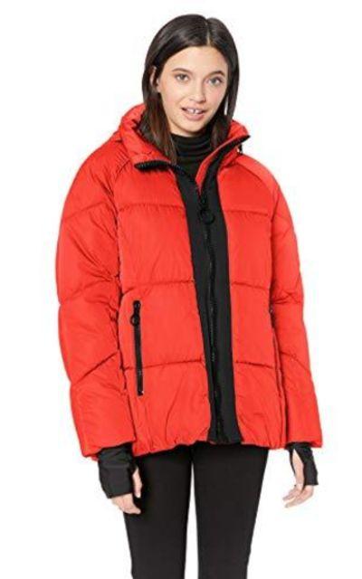 Steve Madden Nylon Puffer Jacket