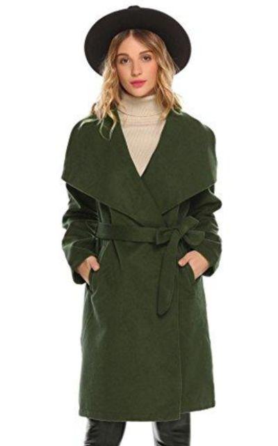 Bifast Coat With Belt