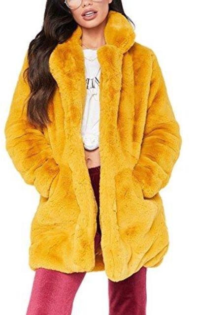 Vamvie Faux Fur Coat