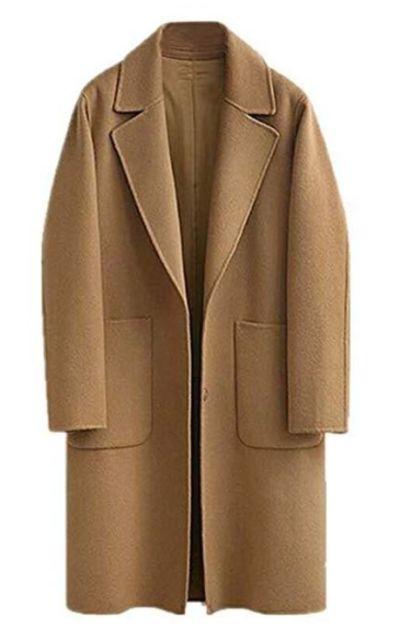 JIANLANPTT  Casual Overcoat