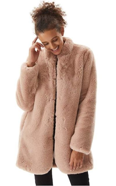 Molemsx  Faux Fur Coat