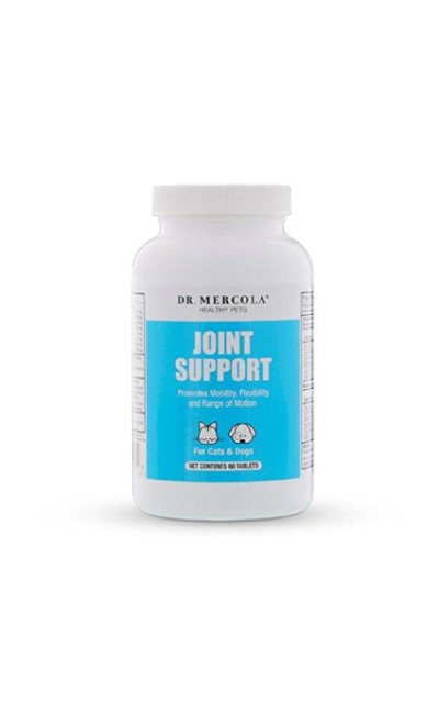 Dr. Mercola Joint Support for Pets – 60 Chewable Tablets – Natural Joint Supplement: MSM, Green Lipped Mussel, Bromelain, BiovaPlex Eggshell Membrane – Promotes Mobility, Flexibility & Range of Motion