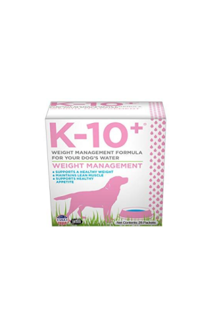 K-10+ Weight Management Supplement for your Dog's Water - 28 ct. Box