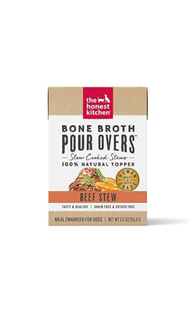 The Honest Kitchen Bone Broth Pour Overs 5.5 oz Carton (12 Pack)