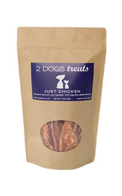 Just Chicken, Turkey, Beef Dog Jerky Treats